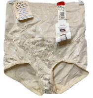 Jaclyn Smith HighWaisted Nipper Panty Brief Tummy Control Shaper Nude Size L NOS