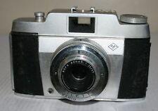 Agfa Silette - 35mm Camera With Agnar 1:3.5 45mm Lens & Case