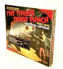 FIVE FINGER DEATH PUNCH Strikes Again - American Capitalist CD (NEW! SEALED)