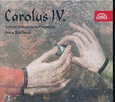 Carolus IV CD NEW Schola Gregoriana Pragensis Hana Blazikova