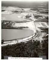 1971 DISNEY WORLD CONSTRUCTION 8x10 PHOTO ASIAN RESORT SITE (Now Grand Floridian