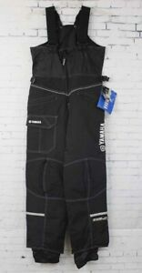 New Yahmaha Mens FXR Snowmobile Bib Pants XS Black White