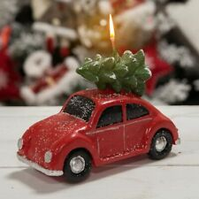 Widdop Gifts Red Christmas Car Novelty Candle - Unique Christmas Home Decoration