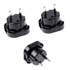 Travel UK to EU Euro Plug AC Power Charger   Adapter Converter Socket HGji