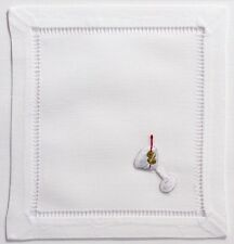 Martini 100% Cotton Set of (4) Cocktail Napkins NIP