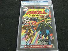 Tomb Of Dracula 1976 #44 30 Cent Price Variant CGC 8.5