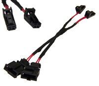 LED Kennzeichen Beleuchtung Stecker auf Buchse CanBus Lastwiderstand für Audi