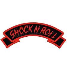 Kreepsville 666 Shock N Roll Arch Iron On Patch Rockabilly Punk Pin Up Rock