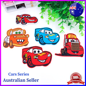 Cars Series Premium Quality Embroidered Patch Applique Badge Iron on Sew