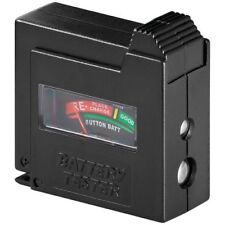 Batterietester Ladungstester Micro AAA 9V-Block Knopfzellen Baby C Mono D