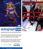 KIM PETRAS signed Autographed 8X10 PHOTO b EXACT PROOF Sexy SINGER Icy ACOA COA