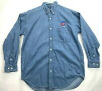 Mens Planet Hollywood Atlants Long Sleeve Button Down Shirt SIZE L