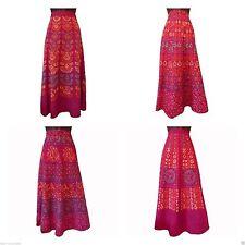 Cotton Full Length Skirts Plus Size for Women