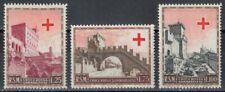 SAN MARINO 1951 Pro Croce Rossa 3v MNH**