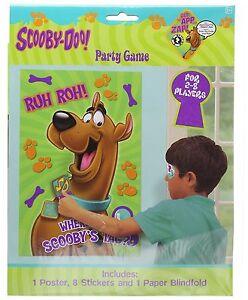 Birthday kit scooby doo 8 children