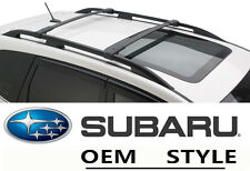 For 09-13 Subaru Forester OE Style Roof Rack Cross Bars Set Luggage Carrier