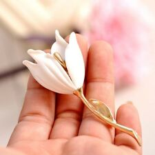 Style Gift Clip Shape Fashion Party Wedding Resin Lady Brooch Girl Pin Flower
