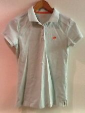 Giordano Mint Green Womens Polo Shirt size M