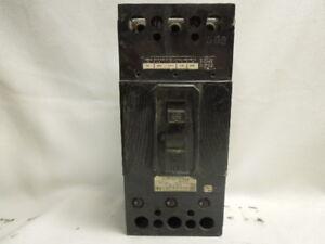 ITE CIRCUIT BREAKER 225 AMP TYPE ET 3 POLE 600V MODEL 4743 FJ FRAME