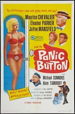 PANIC BUTTON orig 1964 movie poster JAYNE MANSFIELD/ELEANOR PARKER/MIKE CONNORS
