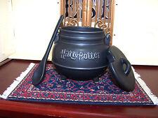 Harry Potter Black Cauldron Ceramic Soup-Coffee-Tea Mug With Spoon GUC