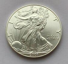 2001 AMERICAN EAGLE SILVER DOLLAR 1 OZ .999 FINE ONE DOLLAR COIN
