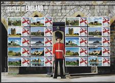 2009 Royal Mail Smilers Sheet - Castles of England - MNH