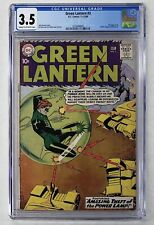 Green Lantern #3 (1960) CGC 3.5 Classic Issue Gil Kane Cover Ad for JLA #1 W@W!!