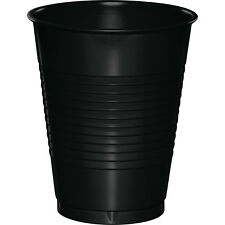20 Black Velvet Wedding Birthday Party Tableware 16oz Plastic Beverage Cups