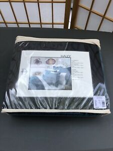 LOT OF 2 - NIB - Studio D Haley Quilted Euro Sham 26 x 26 Teal