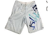 Billabong Mens W 32 Board Shorts Billabong Logo Beach Sun Surf