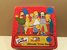 The Simpsons Ultimate Trivia Game 2000 Cardinal Homer, Bart, Marge, Lisa
