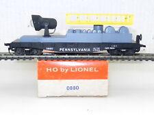 Lionel HO #0880 PRR Pennsylvania MAINTENANCE CAR w/ WORKING SPOTLIGHT ~ T122