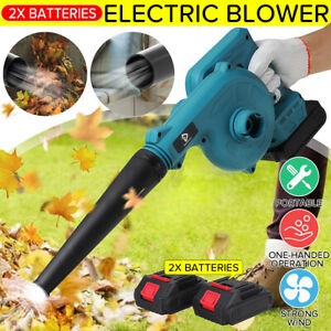 2 in1 Cordless Electric Leaf Blower Home Computer Dust Vacuum Cleaner & Battery