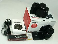 Canon EOS 700D 18.0MP Digital SLR Camera Kit c/w EF-S 18-55mm IS STM Lens - NEW