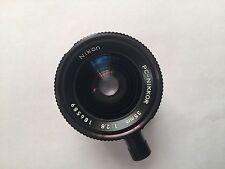 Nikkor Nikon 35 mm F 2.8 shift lens PL MOUNT ARRIFLEX ARRI CAMERA RED ONE 4K 6K