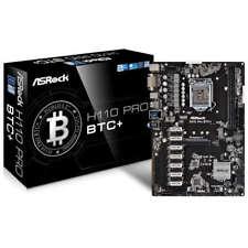 ASRock H110 Pro BTC+ Mining Mainboard (ATX, Intel, DDR4, SATA 6,0Gbit/s, M.2)