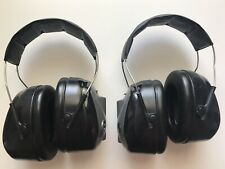 2 pair of Peltor PTL Ear muffs 3M Hearing Protection Headset