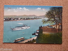 R&L Postcard: Bonn Alter Zoll, Cannon, Germany, Steam Ship