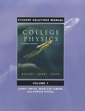 Student Solutions Manual for College Physics: A Strategic Approach Volume 1 (Chs