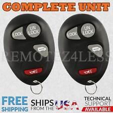 2 for 2001 2002 2003 2004 2005 Chevrolet Venture Keyless Entry Remote Fob 4bn
