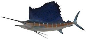 "71"" Sailfish Half Fish Mount Replica - 3 Week Production Time"