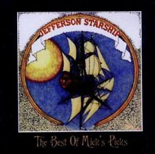 JEFFERSON STARSHIP - THE BEST OF MICK'S PICKS 2CDs (New & Sealed) Inc Live Rock