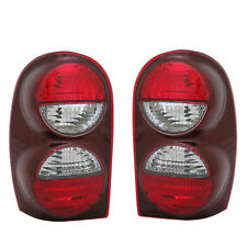 NEW PAIR OF TAIL LIGHTS FIT JEEP LIBERTY W/O AIR DAM 2002-04 CH2800158 CH2801158