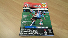 Consett v Queens Park (Pre-Season Friendly) 17/7/2015