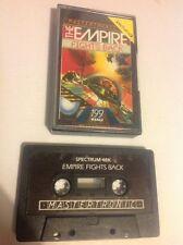 The Empire Fights Back. sinclair zx spectrum. retro. vintage