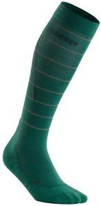 CEP Mens Nighttech Compression Socks - Green - III