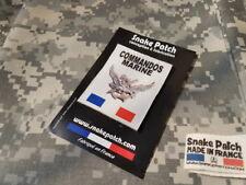 SNAKE PATCH - COMMANDOS MARINE HUBERT - COS marine nationale