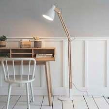 Garden Trading Elder Floor Lamp in Lily White