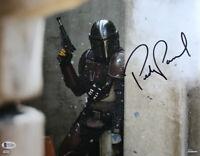 Pedro Pascal Autographed The Mandalorian 11x14 Photo Star Wars BAS 28181 PF